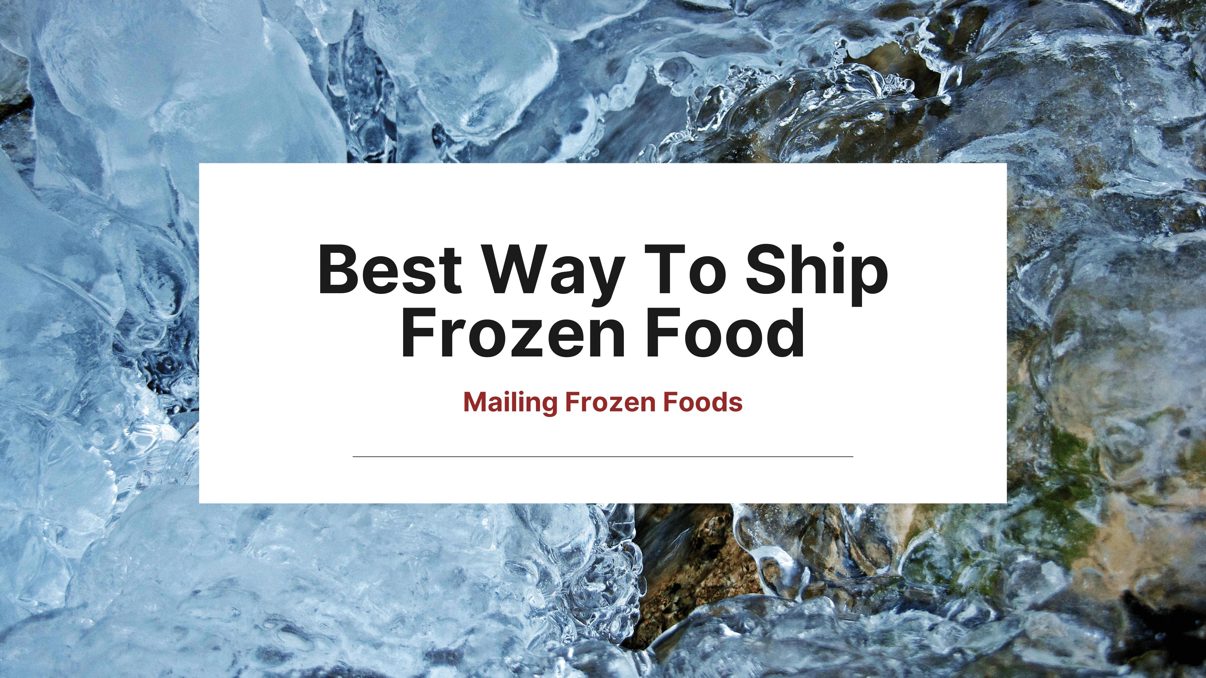 mailing-frozen-foods